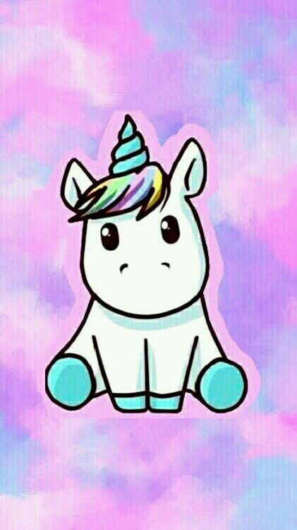 Such A Cute Little Unicorn With Images Unicorn Wallpaper