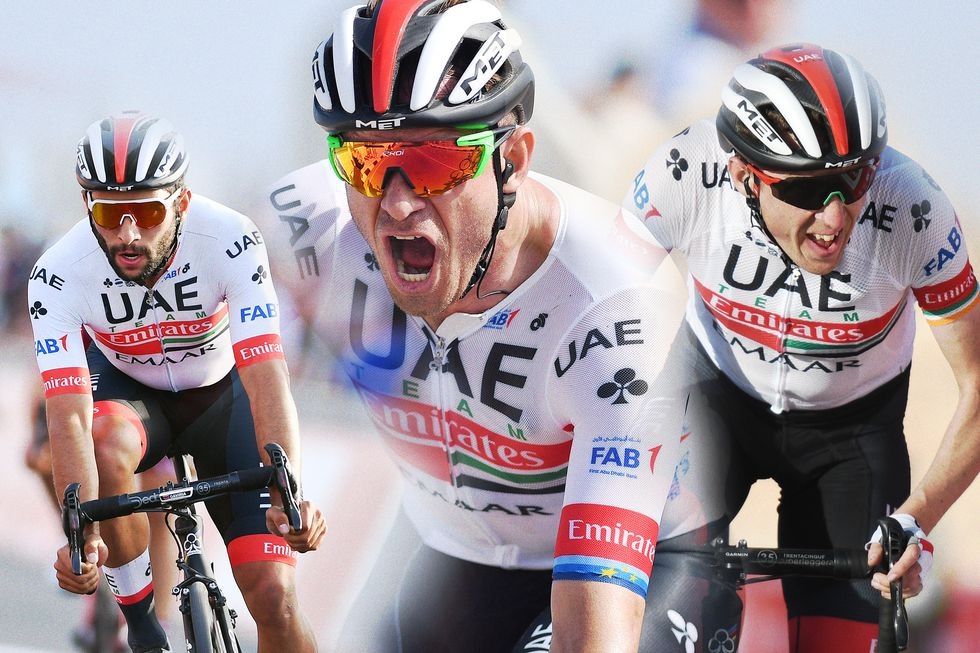 Fabio Aru Alexander Kristoff And Dan Martin Of Uae Team Emirates Tour De France Chris Froome Giro D Italia