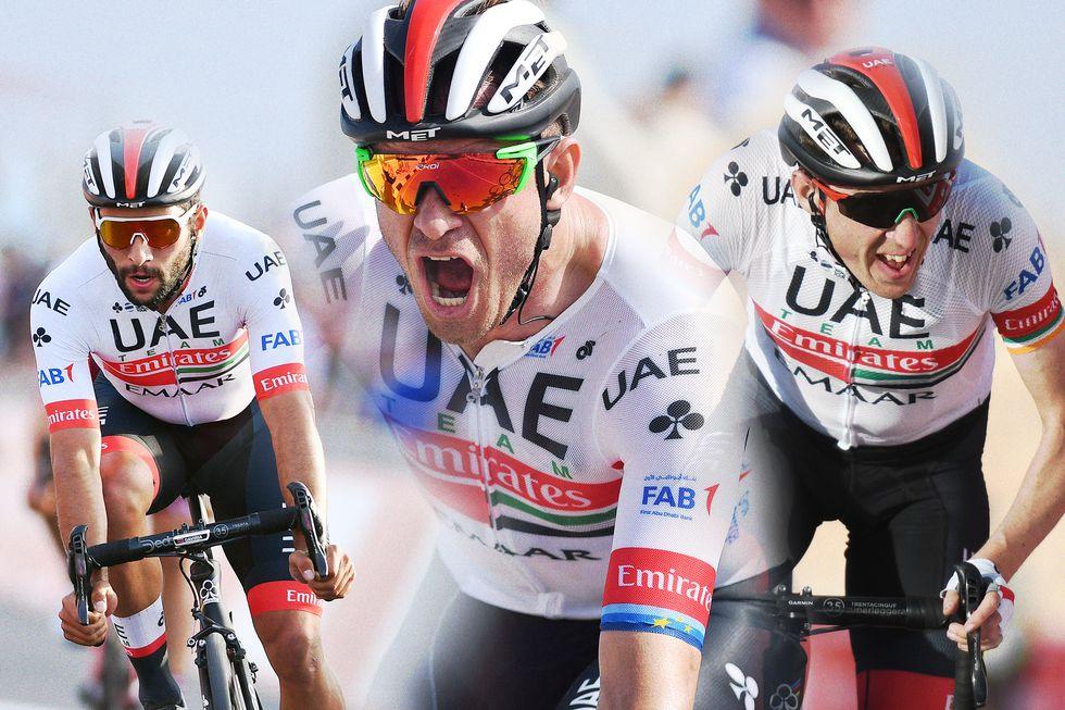 Fabio Aru Alexander Kristoff And Dan Martin Of Uae Team Emirates Tour De France Chris Froome Giro D Italia