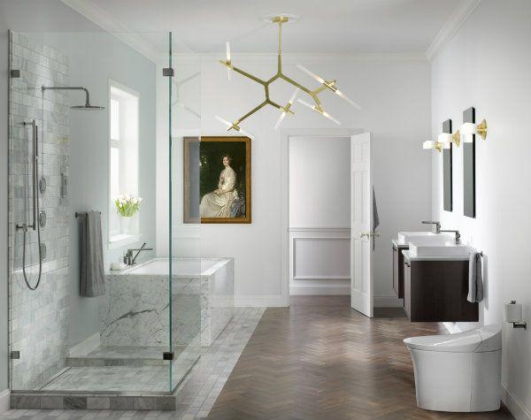 This Year S Kitchen Bath Trends Bathroom Trends Sophisticated Bathroom Bathroom Design