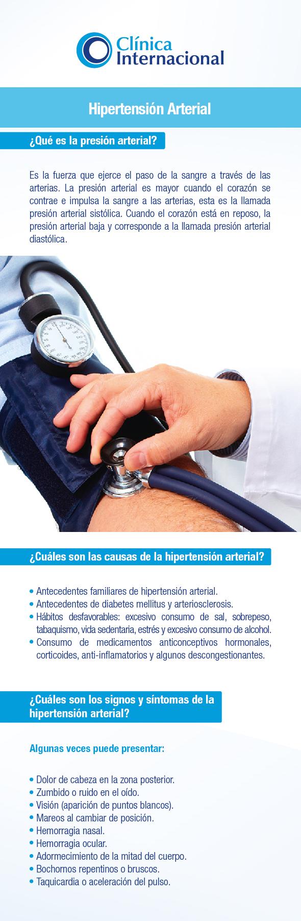 descongestionante para la hipertensión arterial y diabetes