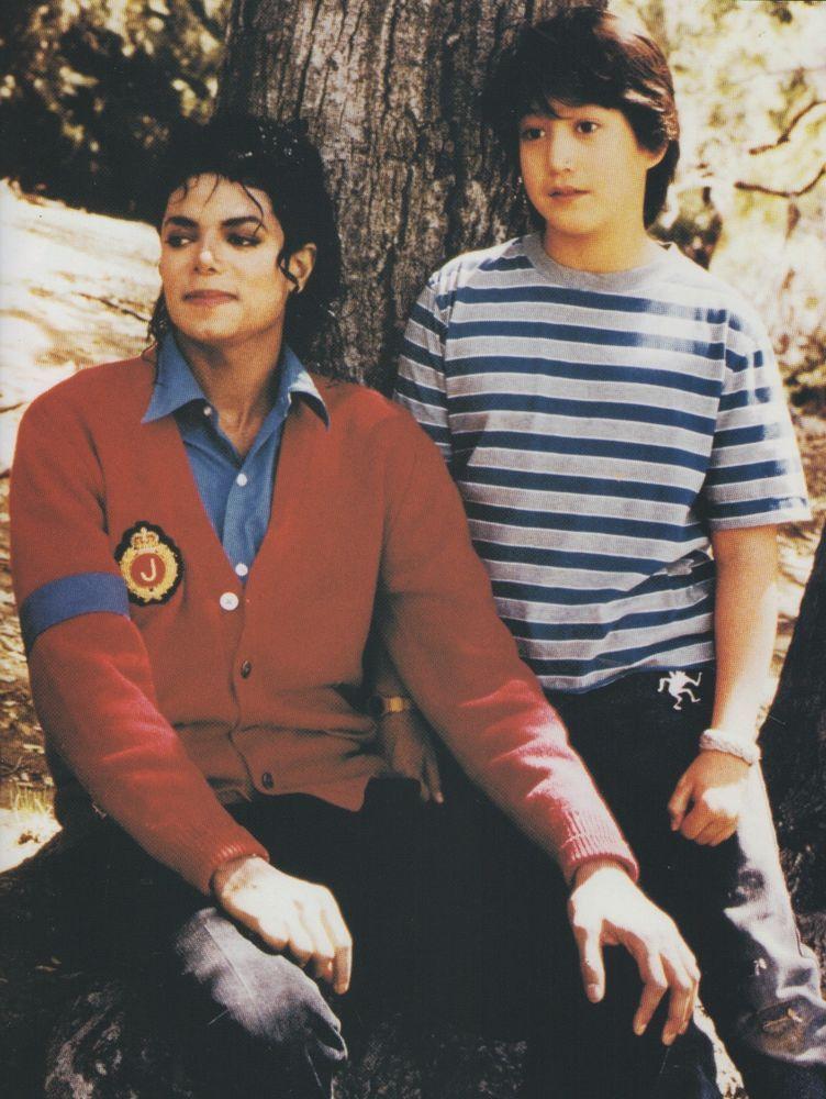 Michael Jackson Exclusive Very Rare Foto Photo MOONWALKER SEAN LENNON