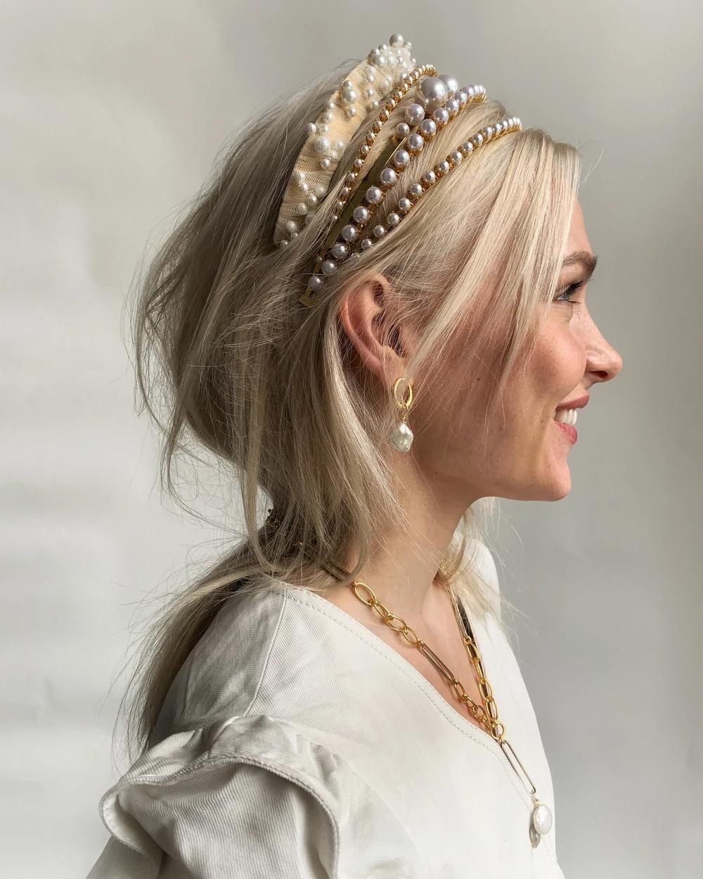 Bleeker Pearl Headband