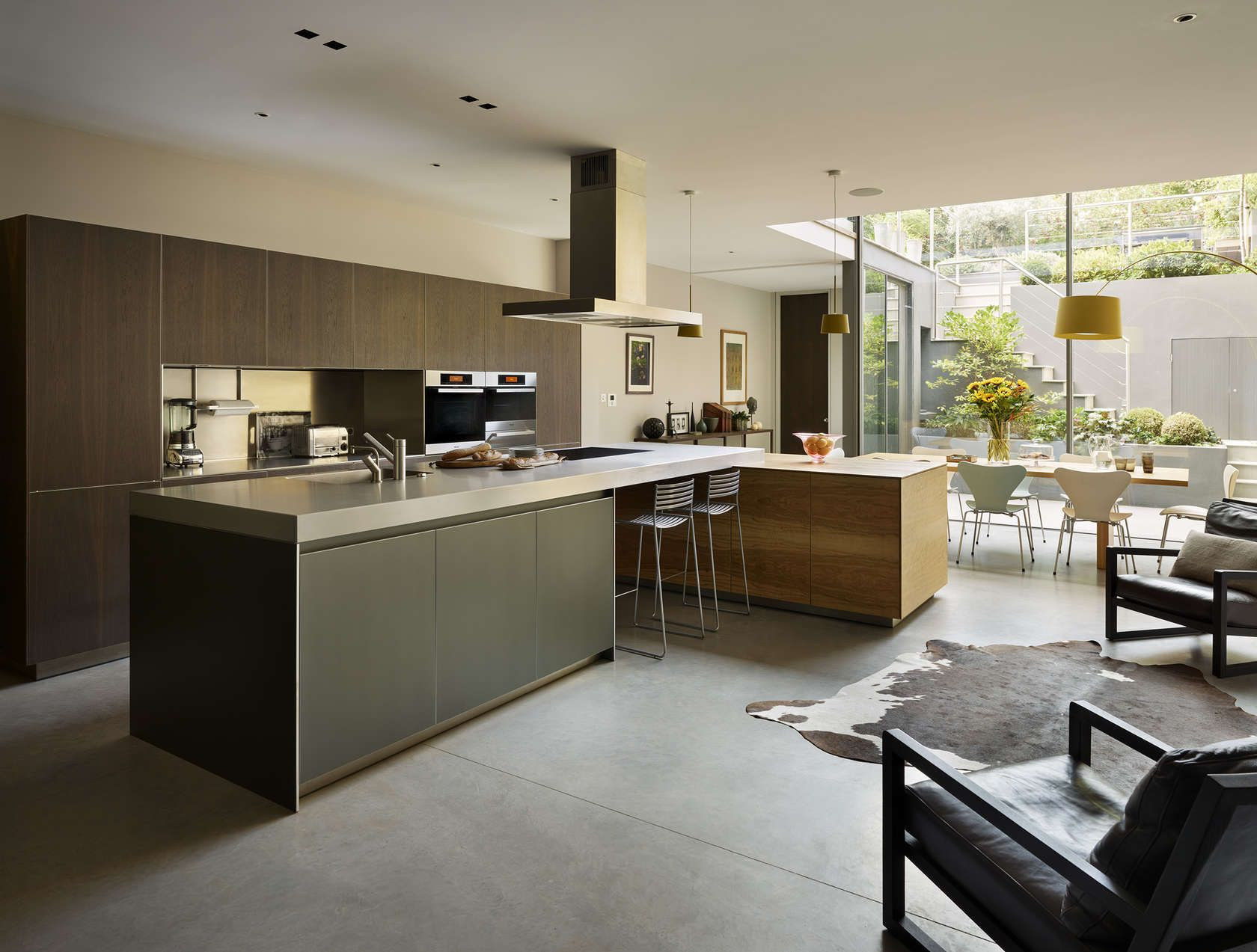 Kitchen Architecture S Bulthaup B3 Furniture In Aluminium Grey And