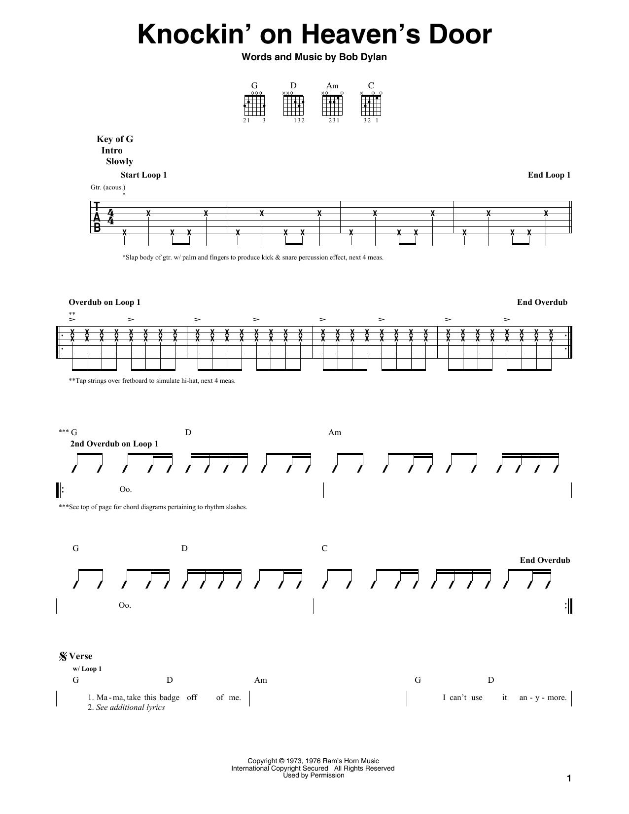 Eric Clapton Knockin On Heaven S Door Eric Clapton Classical Guitar Lessons Banjo Music