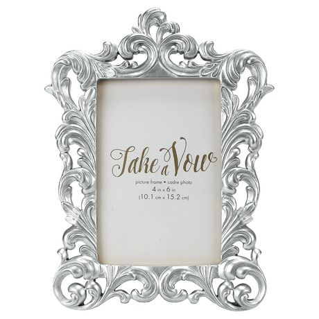 Take A Vow Silver Baroque Picture Frame In 2019