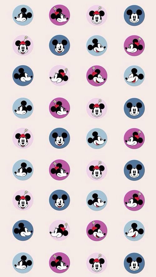 disney, mickey, and pattern image Mickey mouse wallpaper