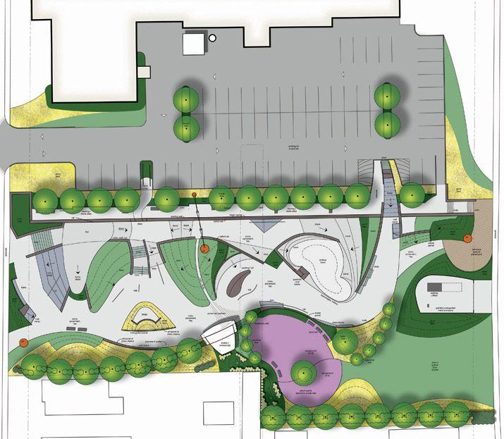 Fountain square skate park skatepark pinterest skate for Mountain designs garden city