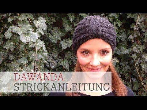DaWanda Strickanleitung: Turban Mütze (+popis za reprodukciju)