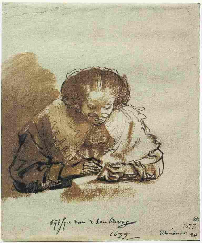 Rembrandt Titia Van Uylenburgh 1639 Stockholm Nationalmuseum In 2020 Rembrandt Drawings Rembrandt Van Rijn Rembrandt