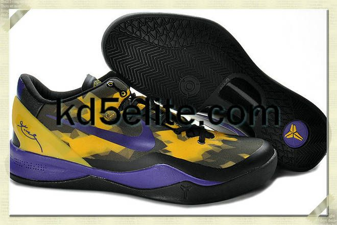 low priced daa95 6b05d who wouldnt want these kobe shoes e 8 Elite Yellow Lemon Black Club Purple  555035 103