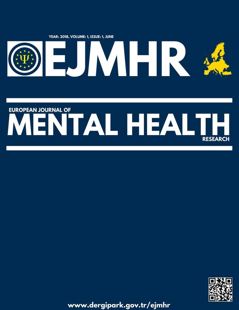 European Journal of Mental Health Research is a peer