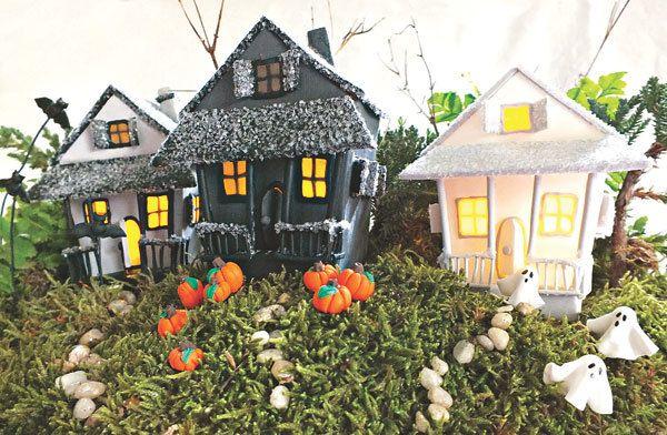 DIY Halloween Haunted Clay Planter Halloween Ideas Pinterest - halloween decorations on pinterest