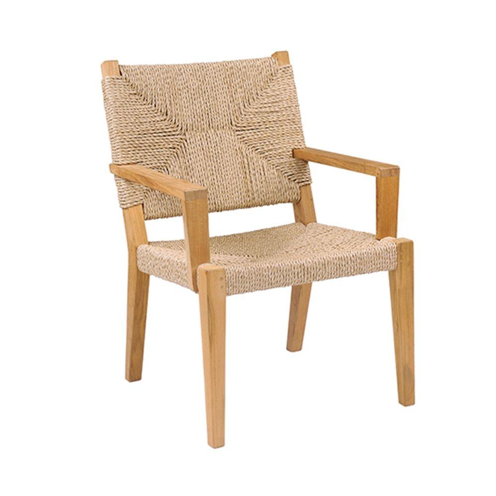 Kingsley Bate Hadley Dining Armchair In 2020 Elegant Outdoor Furniture Dining Arm Chair Outdoor Furniture