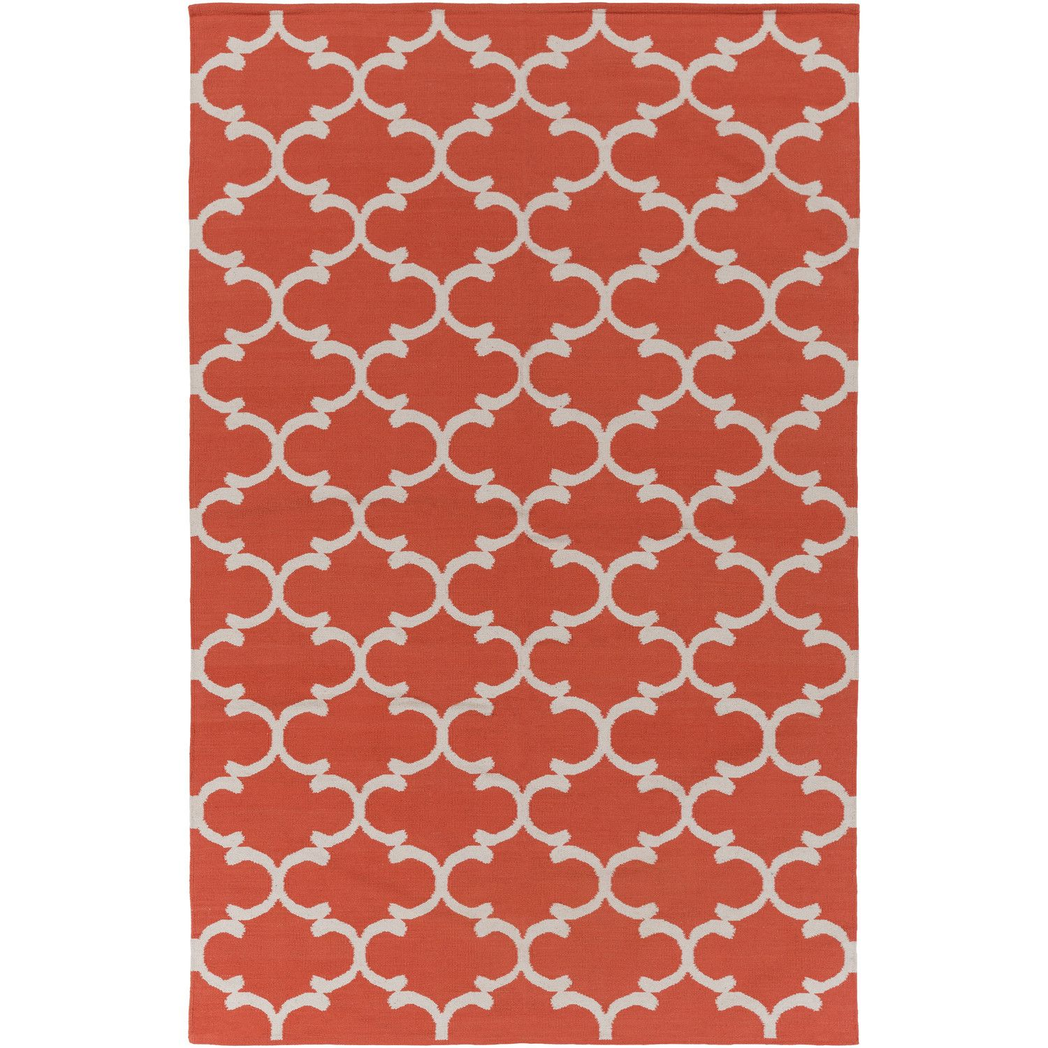 Artistic Weavers Vogue Lola Coral Ivory Area Rug 8x10