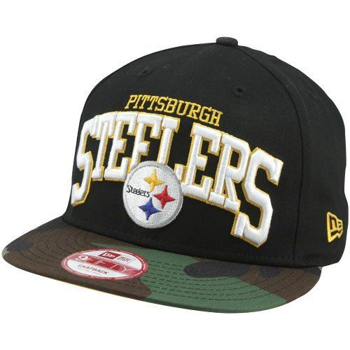 the latest 34d13 60f34 Pittsburgh Steelers Hats   New Era Pittsburgh Steelers Snapbackin 9FIFTY  Snapback Hat - Camo Black New Era.  27.95