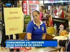 Galdino Saquarema Noticia: Supermercados de SP serão obrigados a dar 2 sacolas de graça