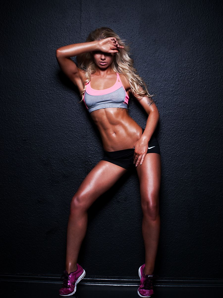 Fitness Model Anzelika By Gatis Bravostudioriga On 500px