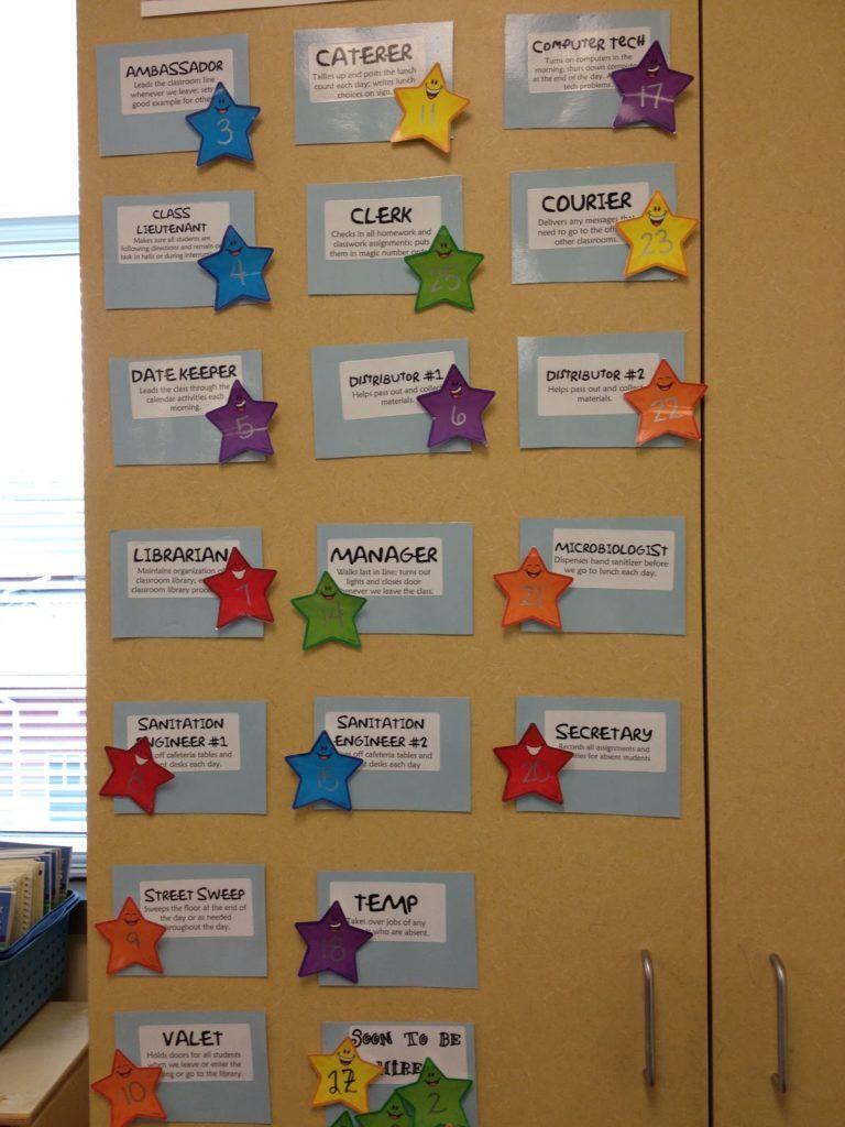 25 flexible fun and free classroom job chart ideas pinterest