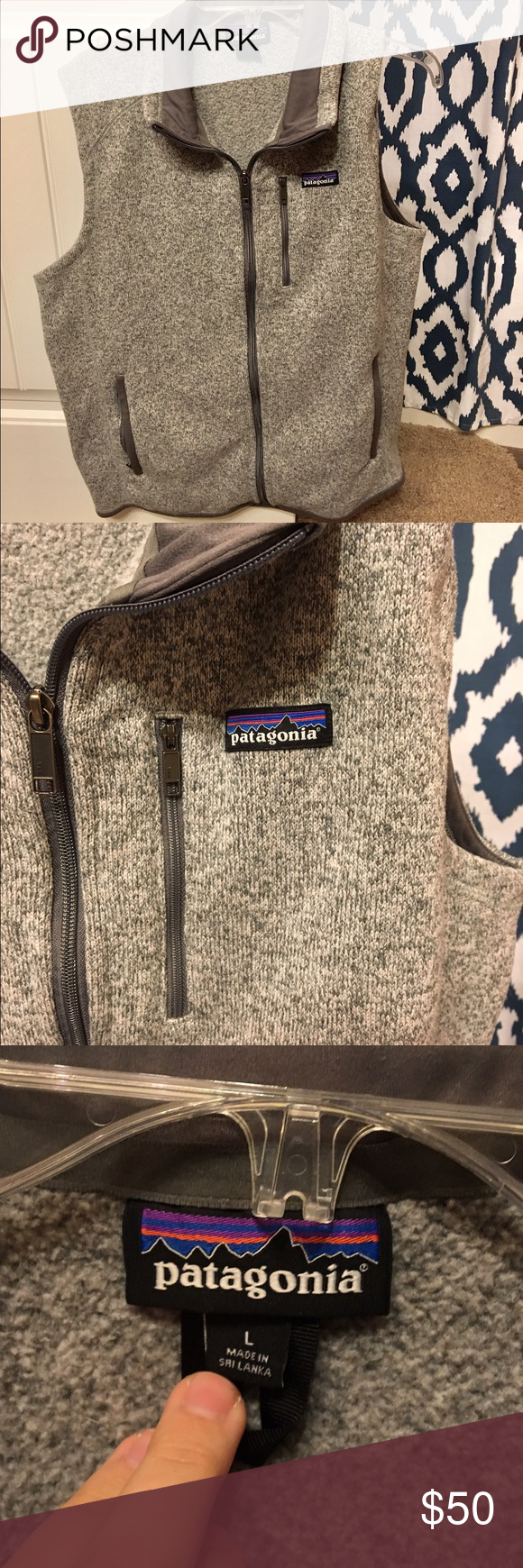 Patagonia better sweater vest Men's large. Better sweater ...