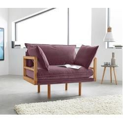 Photo of andas Loveseat Purple andas