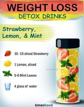 15 Effective DIY Weight Loss Drinks [with Benefits & Recipes] - Samantha Fashion...        15 Effect...