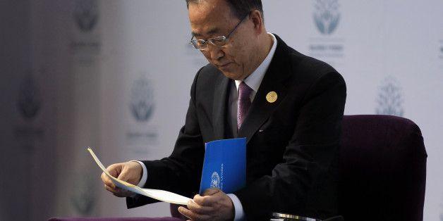 유엔 무급인턴, 반기문 총장에 편지 (전문)