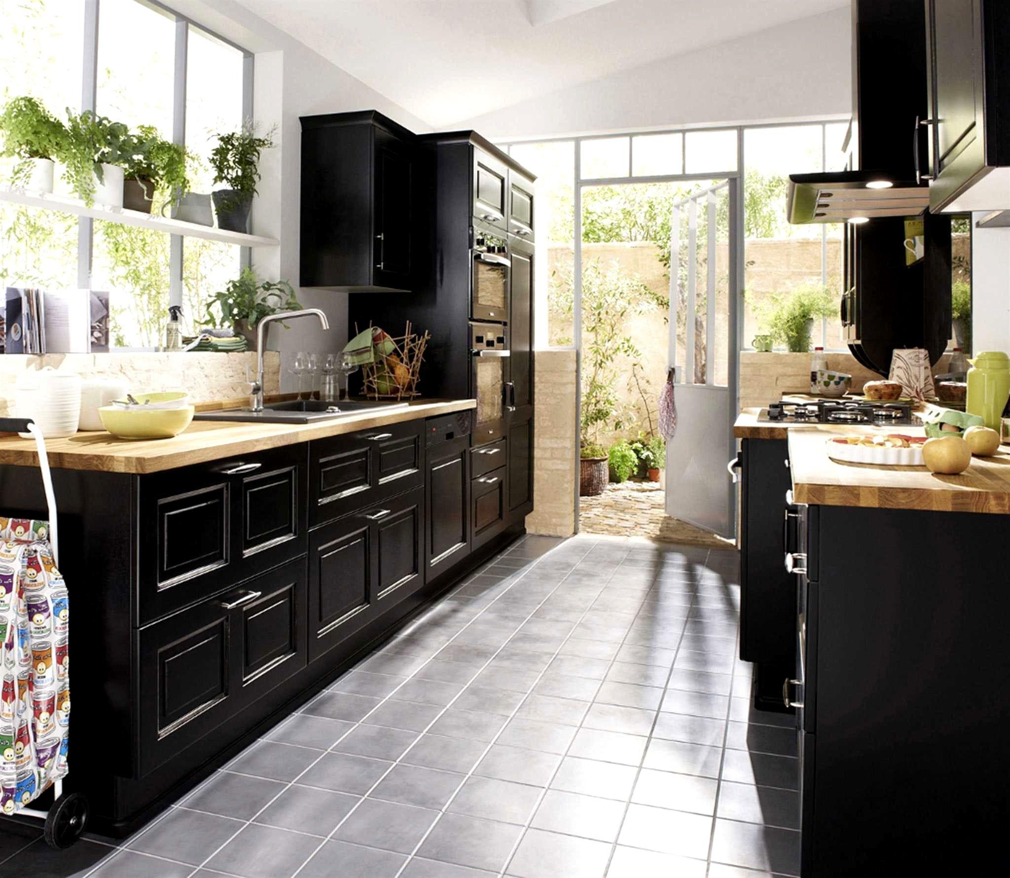 Cuisine Ikea Noire Trick en 14  Meubles de cuisine noirs