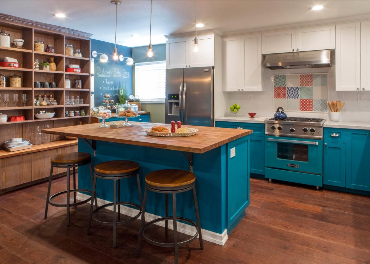 Desperate Kitchen No More A Beautiful Baker S America Most Kitchens Hgtv