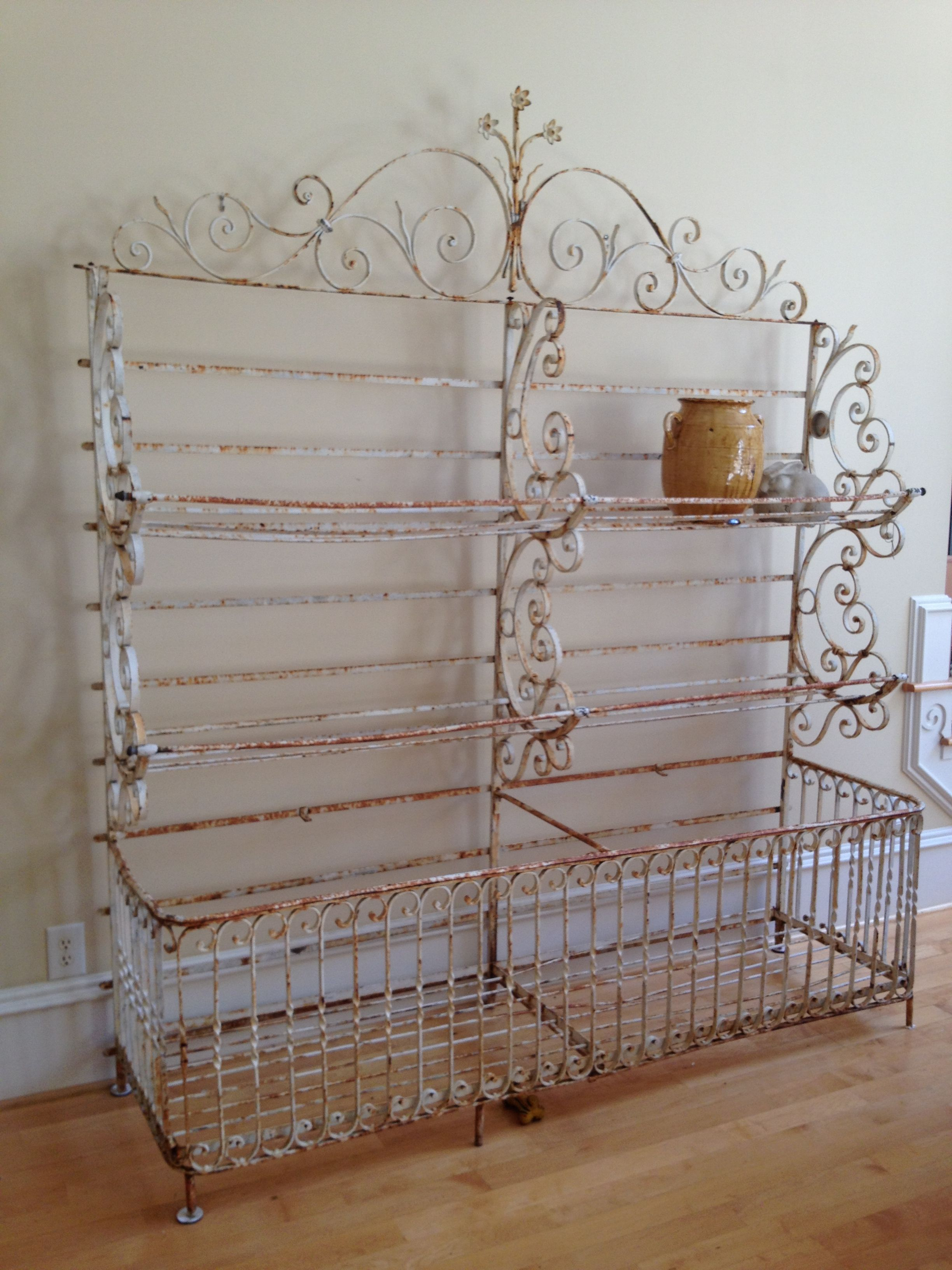 Want The Most Beautiful Hand Wrought French Baker S Rack Ever