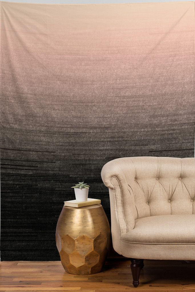 Iveta Abolina Peach Blush Ombre Tapestry | DENY Designs Home Accessories