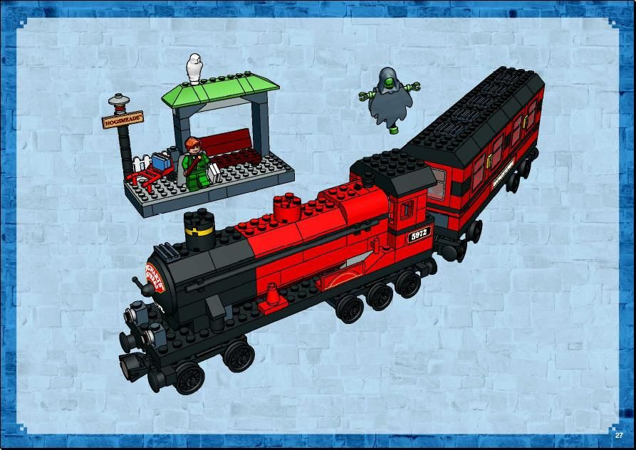 Harry Potter Hogwarts Express Lego 4758 Lego Pinterest
