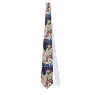 NOCTURNE WITH MASKS / Venetian Masquerade Tie