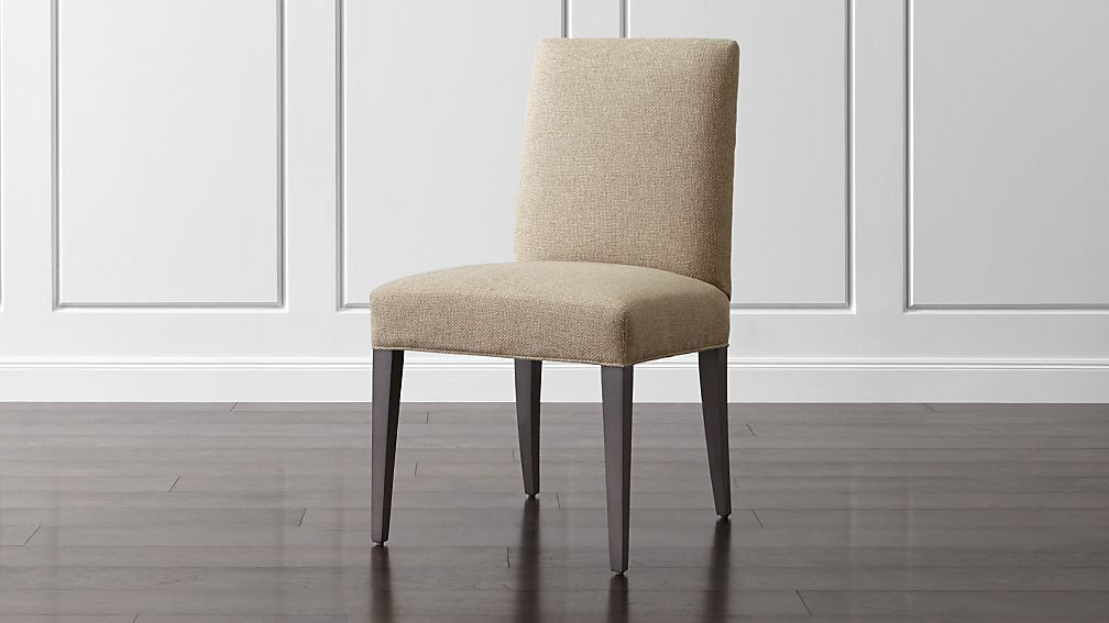 Crate  Barrel Miles Upholstered Dining Chair Upholstered dining