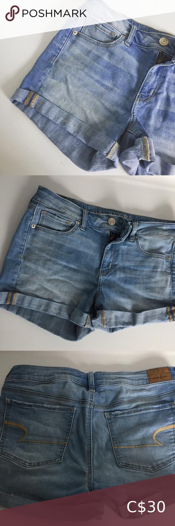 American Eagle Super Stretch X Jean Shorts