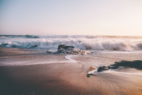 Untitled Via Tumblr Sun Beach Ocean Vintage Girl