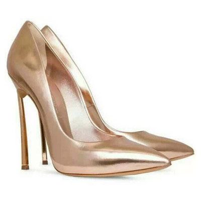 79,90EUR High Heels Pumps metallic rosa