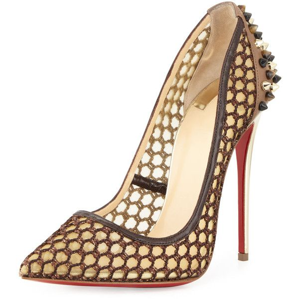 a749cbbc772d Christian Louboutin Guni Knotted 120mm Red Sole Pump (3