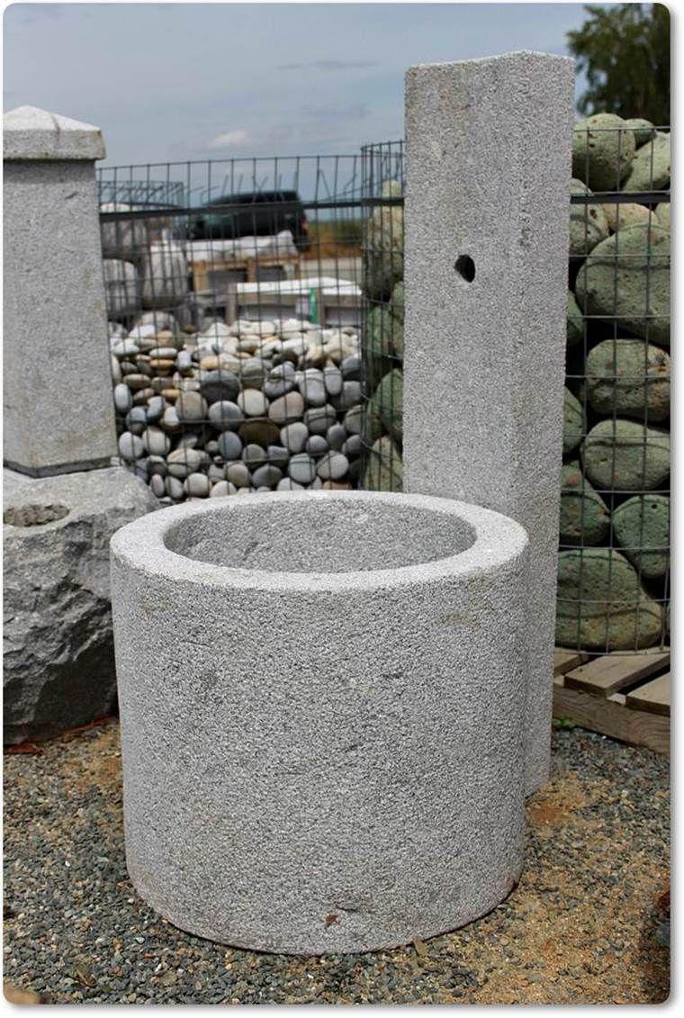 brunnen modern aus granit | brunnen | pinterest | brunnen, Gartenarbeit ideen