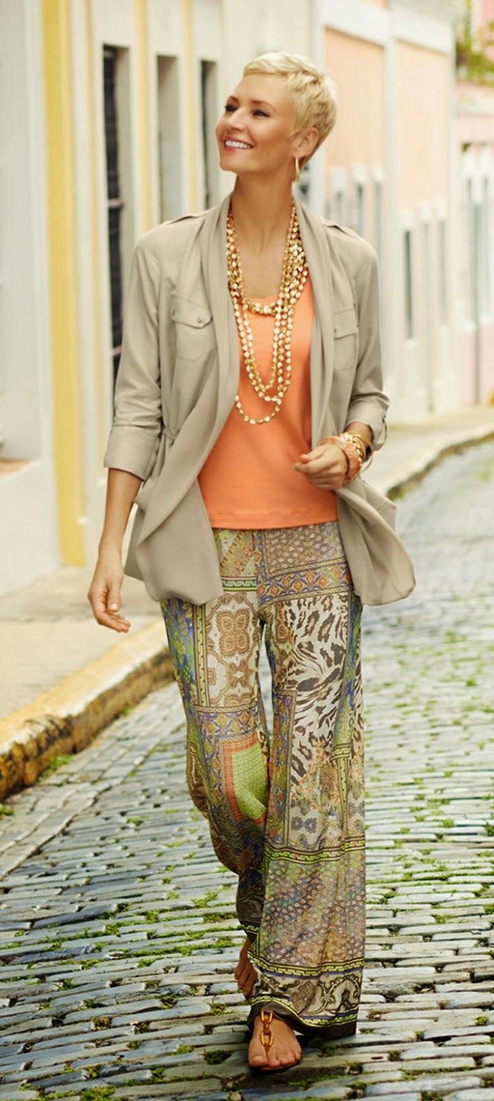 Outfit Inspiration Summer fashion | Boho fashion over 40 ...