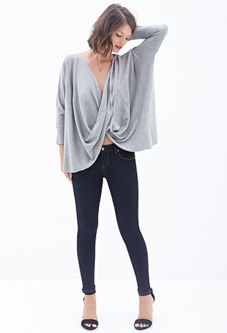 Cowl-Neck Sweater | FOREVER 21 - 2000122702