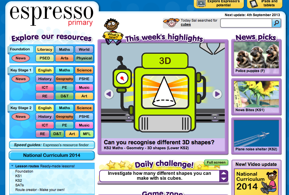 Httpespresso A Wealth Of Interactive Resources Can Be