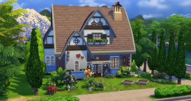 Tinker Bell house at Studio Sims Creation via Sims 4 Updates