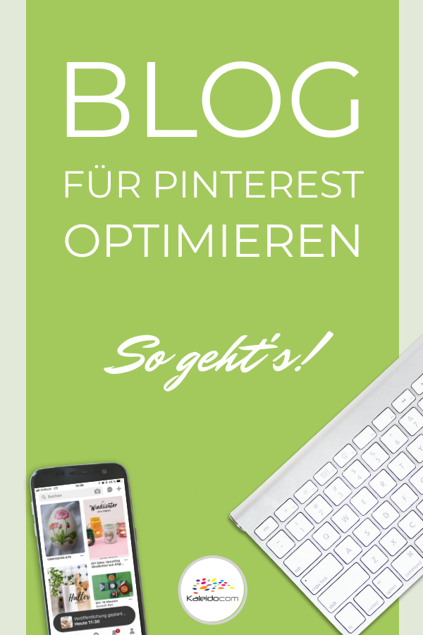 So optimieren Sie Ihren Blog für Pinterest | Blog ...