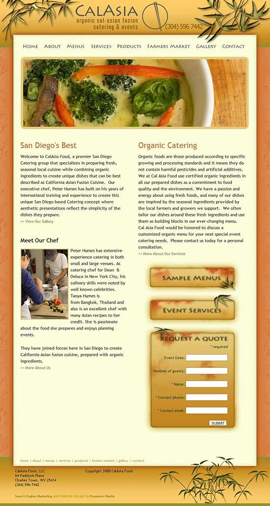 Custom designed and programmed WordPress website by ACA Web - best of blueprint consulting toronto