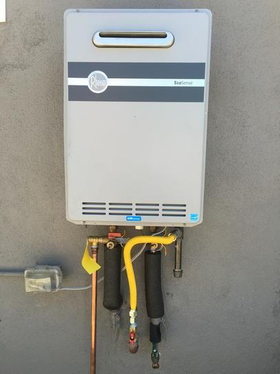Tankless Gas Water Heaters Home Depot