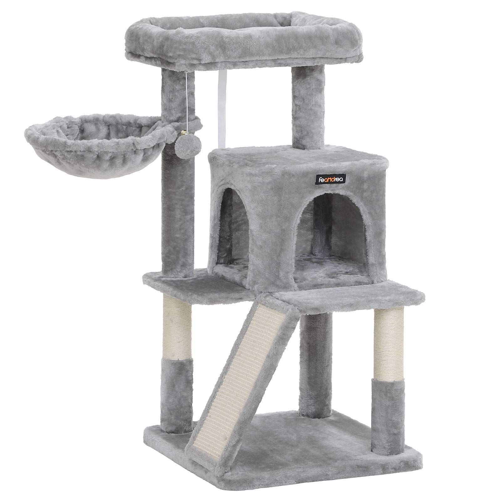 FEANDREA Cat Tree with SisalCovered Scratching Posts * Be