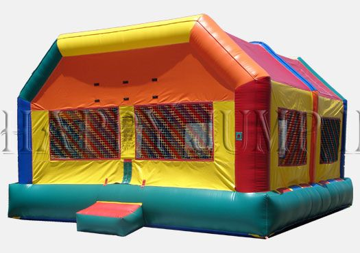 Inflatable Interactive Games: Incredible Parties with A Happy Jump Inc. Bouncy House