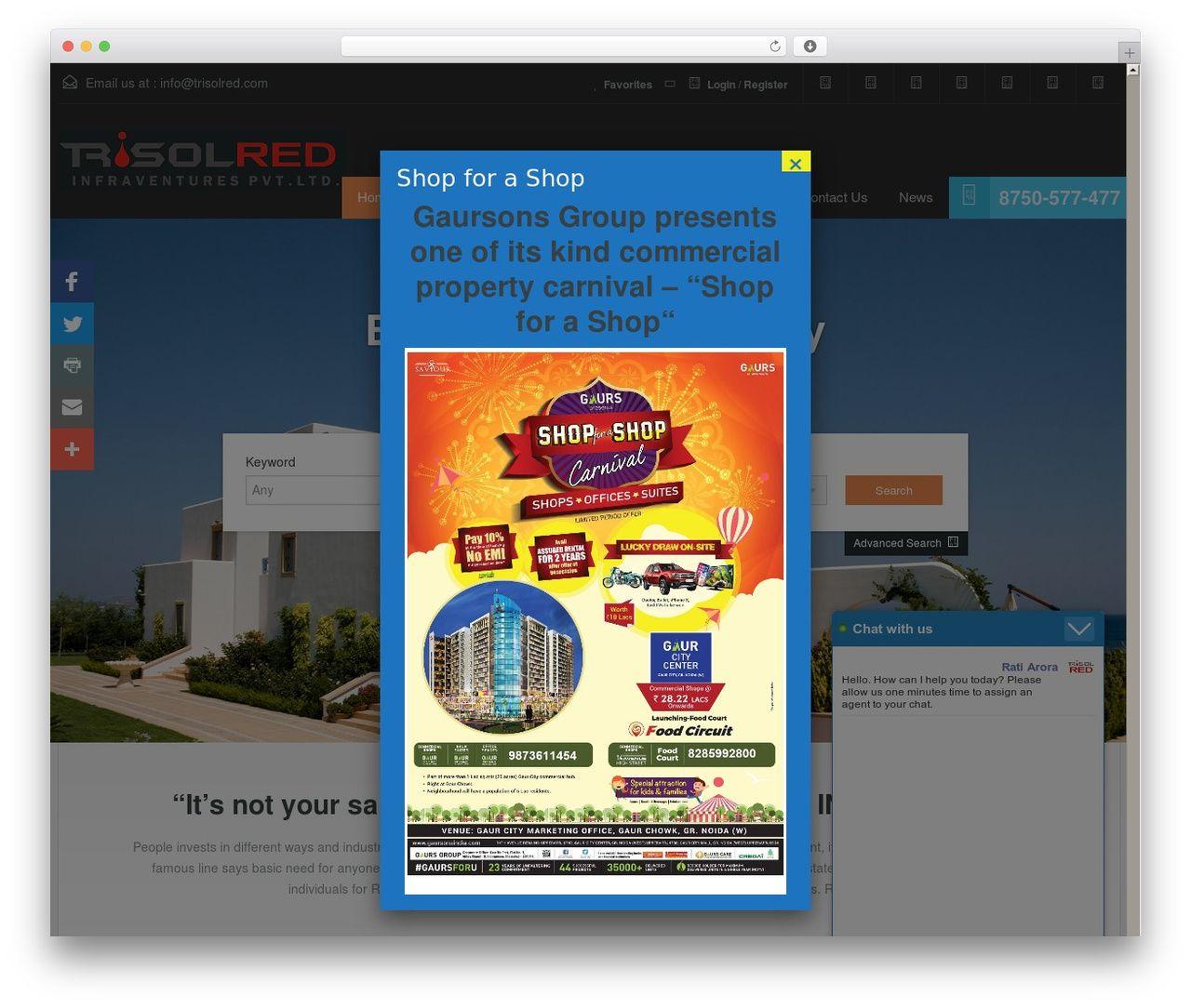 RealHomes Theme real estate WordPress theme