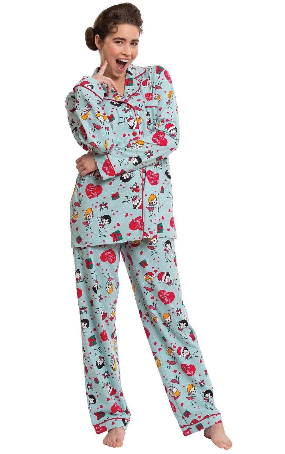 "I Love Lucy""® Christmas Pajamas"" I love lucy pajamas, I"